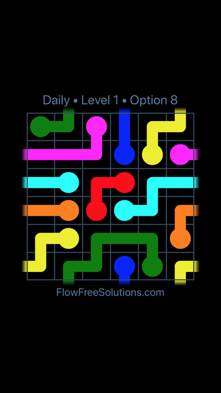 Solution and Answer to the Puzzle for Warps Date Saturday, January 12, 2019 Level 1