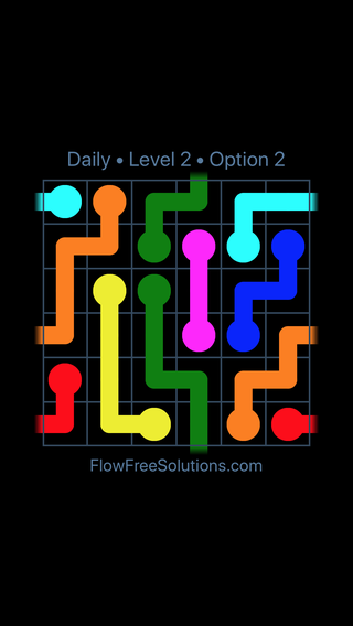 Solution and Answer to the Puzzle for Warps Date Saturday, January 12, 2019 Level 2