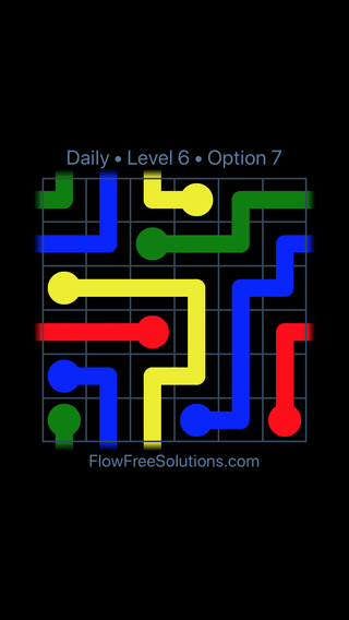Solution and Answer to the Puzzle for Warps Date Saturday, July 2, 2016 Level 6