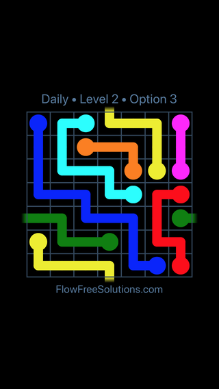 Solution and Answer to the Puzzle for Warps Date Sunday, April 10, 2016 Level 2
