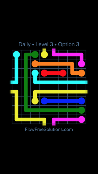 Solution and Answer to the Puzzle for Warps Date Sunday, January 13, 2019 Level 3