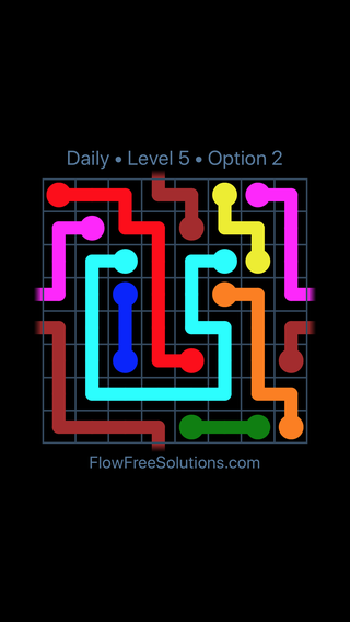 Solution and Answer to the Puzzle for Warps Date Sunday, April 10, 2016 Level 5