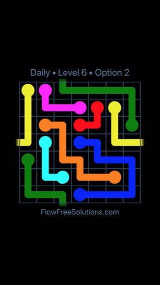 Solution and Answer to the Puzzle for Warps Date Sunday, February 11, 2018 Level 6