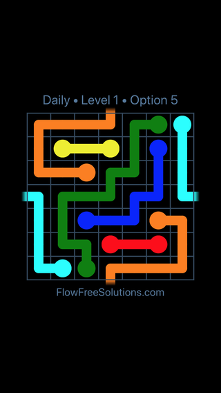 Solution and Answer to the Puzzle for Warps Date Monday, February 12, 2018 Level 1