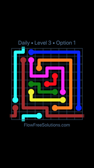 Solution and Answer to the Puzzle for Warps Date Tuesday, February 13, 2018 Level 3