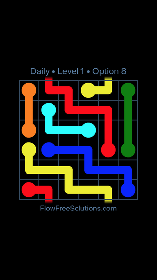 Solution and Answer to the Puzzle for Warps Date Thursday, February 15, 2018 Level 1