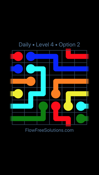 Solution and Answer to the Puzzle for Warps Date Thursday, February 15, 2018 Level 4