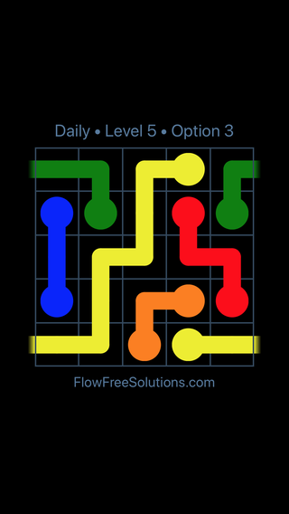 Solution and Answer to the Puzzle for Warps Date Thursday, February 15, 2018 Level 5