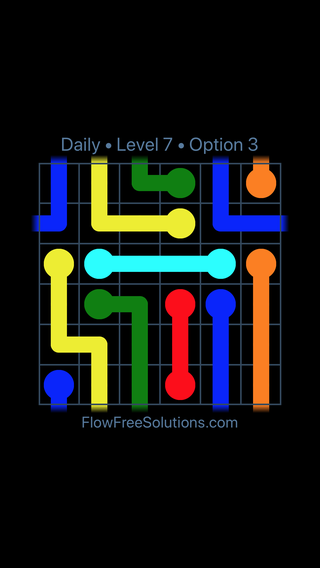Solution and Answer to the Puzzle for Warps Date Thursday, January 11, 2018 Level 7