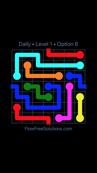 Solution and Answer to the Puzzle for Warps Date Sunday, August 5, 2018 Level 1