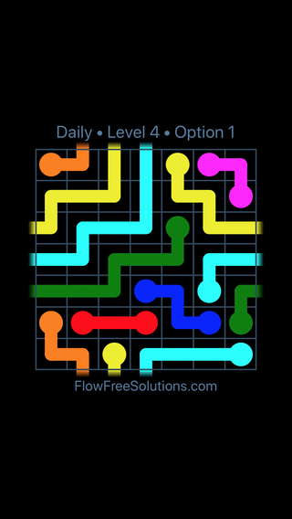 Solution and Answer to the Puzzle for Warps Date Sunday, July 10, 2016 Level 4