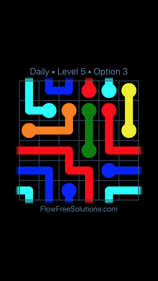 Solution and Answer to the Puzzle for Warps Date Sunday, August 5, 2018 Level 5