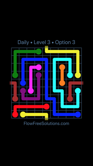 Solution and Answer to the Puzzle for Warps Date Tuesday, August 7, 2018 Level 3