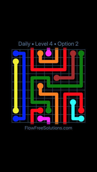Solution and Answer to the Puzzle for Warps Date Tuesday, May 15, 2018 Level 4