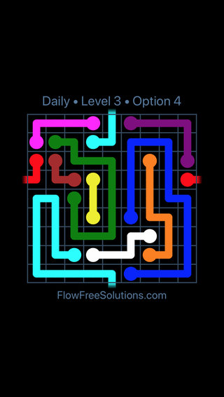 Solution and Answer to the Puzzle for Warps Date Wednesday, August 8, 2018 Level 3