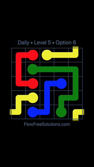Solution and Answer to the Puzzle for Warps Date Thursday, May 17, 2018 Level 5