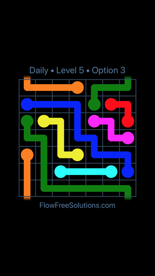 Solution and Answer to the Puzzle for Warps Date Friday, August 10, 2018 Level 5