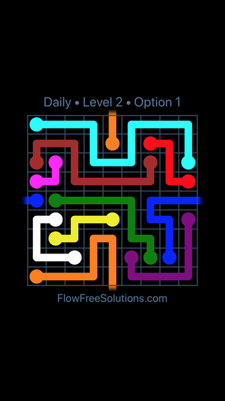 Solution and Answer to the Puzzle for Warps Date Saturday, August 11, 2018 Level 2