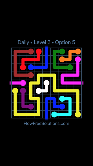 Solution and Answer to the Puzzle for Warps Date Friday, January 12, 2018 Level 2