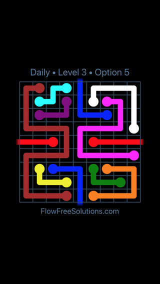 Solution and Answer to the Puzzle for Warps Date Friday, January 12, 2018 Level 3