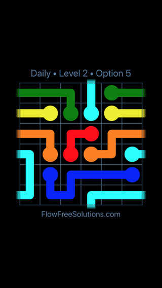 Solution and Answer to the Puzzle for Warps Date Monday, April 25, 2016 Level 2