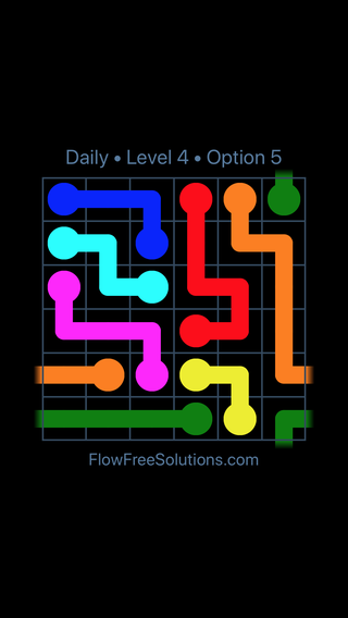 Solution and Answer to the Puzzle for Warps Date Monday, November 5, 2018 Level 4