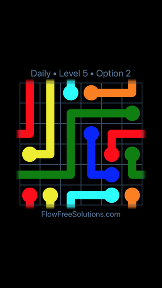 Solution and Answer to the Puzzle for Warps Date Monday, November 5, 2018 Level 5