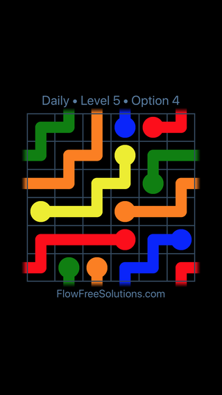 Solution and Answer to the Puzzle for Warps Date Tuesday, November 6, 2018 Level 5