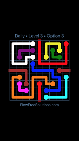 Solution and Answer to the Puzzle for Warps Date Thursday, November 8, 2018 Level 3