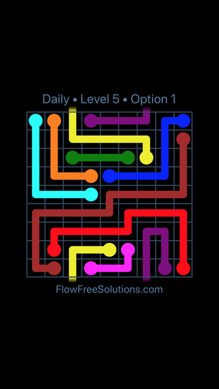 Solution and Answer to the Puzzle for Warps Date Thursday, November 8, 2018 Level 5
