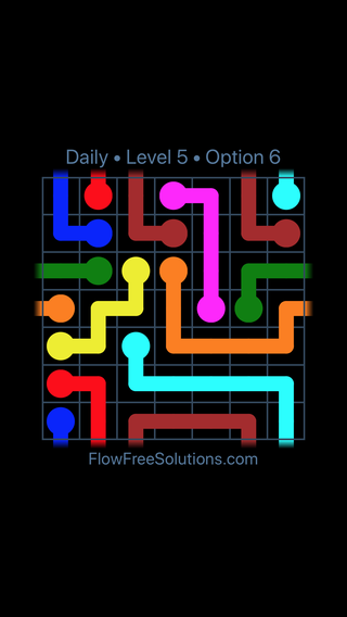 Solution and Answer to the Puzzle for Warps Date Friday, November 9, 2018 Level 5