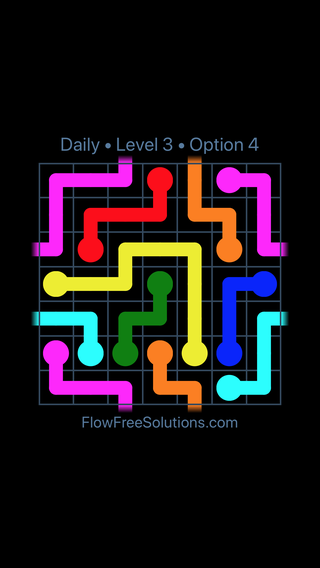 Solution and Answer to the Puzzle for Warps Date Saturday, November 10, 2018 Level 3