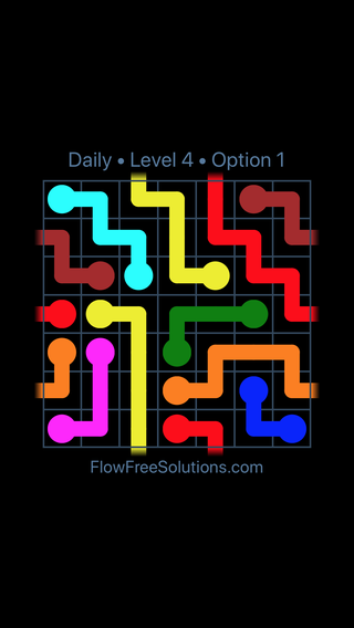 Solution and Answer to the Puzzle for Warps Date Saturday, July 23, 2016 Level 4