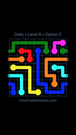 Solution and Answer to the Puzzle for Warps Date Monday, May 2, 2016 Level 6