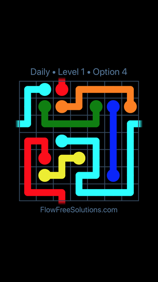 Solution and Answer to the Puzzle for Warps Date Tuesday, May 3, 2016 Level 1