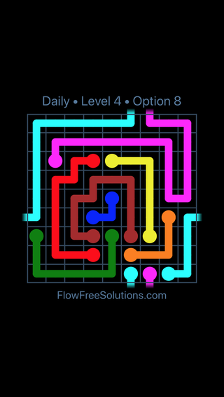 Solution and Answer to the Puzzle for Warps Date Tuesday, May 3, 2016 Level 4