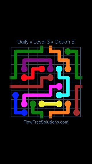 Solution and Answer to the Puzzle for Warps Date Saturday, January 13, 2018 Level 3