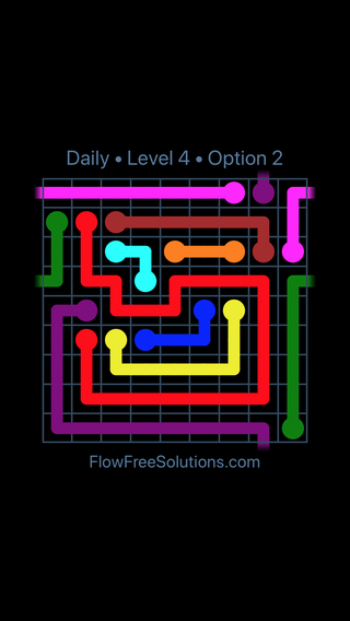 Solution and Answer to the Puzzle for Warps Date Monday, August 1, 2016 Level 4