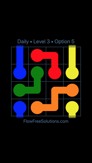 Solution and Answer to the Puzzle for Warps Date Tuesday, May 10, 2016 Level 3