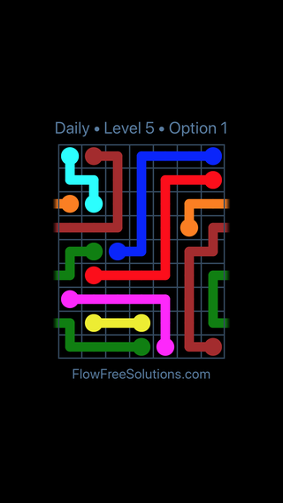 Solution and Answer to the Puzzle for Warps Date Wednesday, May 11, 2016 Level 5