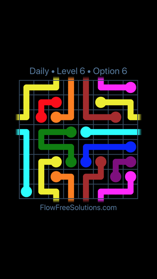 Solution and Answer to the Puzzle for Warps Date Wednesday, May 11, 2016 Level 6