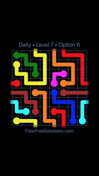 Solution and Answer to the Puzzle for Warps Date Wednesday, August 3, 2016 Level 7