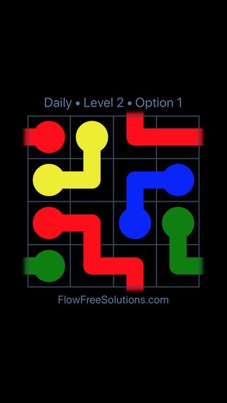 Solution and Answer to the Puzzle for Warps Date Thursday, May 12, 2016 Level 2