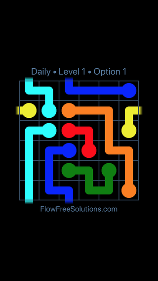 Solution and Answer to the Puzzle for Warps Date Sunday, March 13, 2016 Level 1