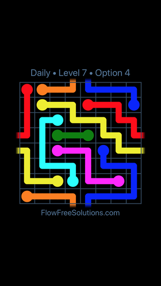 Solution and Answer to the Puzzle for Warps Date Sunday, March 13, 2016 Level 7