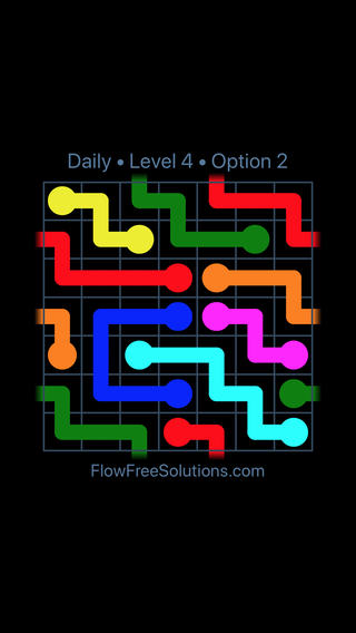 Solution and Answer to the Puzzle for Warps Date Sunday, May 15, 2016 Level 4