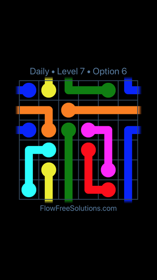 Solution and Answer to the Puzzle for Warps Date Sunday, May 15, 2016 Level 7