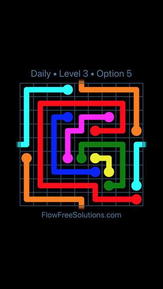 Solution and Answer to the Puzzle for Warps Date Monday, June 11, 2018 Level 3