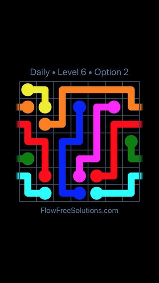 Solution and Answer to the Puzzle for Warps Date Tuesday, June 12, 2018 Level 6