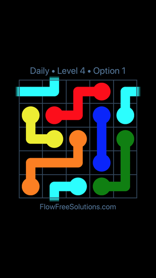 Solution and Answer to the Puzzle for Warps Date Wednesday, August 10, 2016 Level 4
